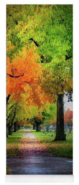 Fall Color Yoga Mat