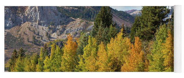 Fall Color In The Eastern Sierra Yoga Mat