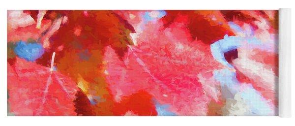 Fall Colors Yoga Mat