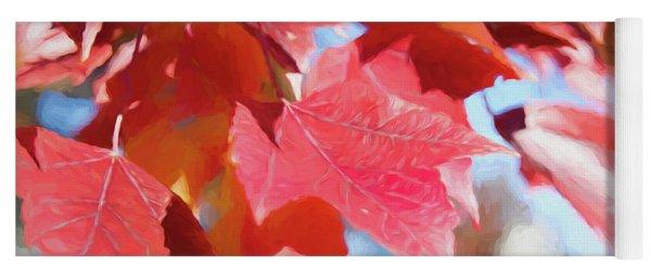 Fall Colors Oil Yoga Mat
