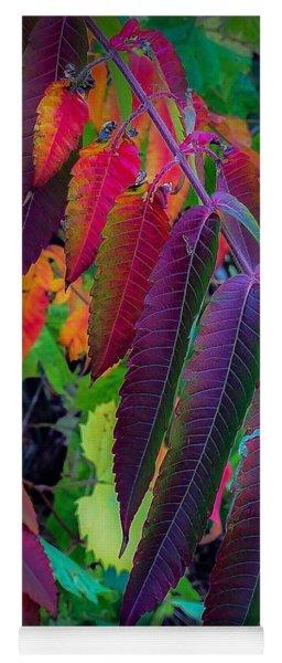 Fall Feathers Yoga Mat