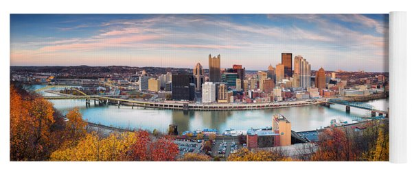 Fall In Pittsburgh  Yoga Mat