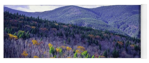 Fall In The White Mountains Yoga Mat