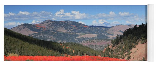 Fall In  Ute Trail  Yoga Mat