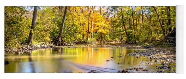 Fall In Wisconsin Yoga Mat