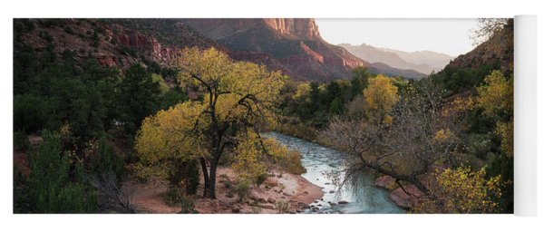 Fall In Zion National Park Yoga Mat