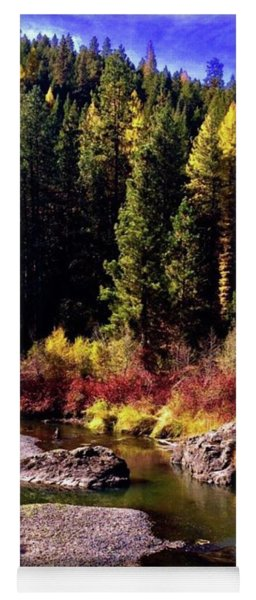 Fall Into The Wilds Yoga Mat