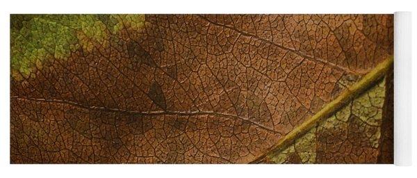 Fall Leaf Yoga Mat