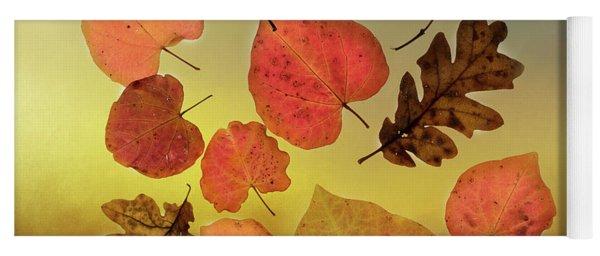 Fall Leaves #1 Yoga Mat