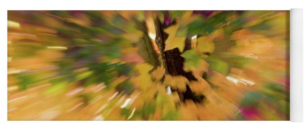 Fall Leaves Abstract 6 Yoga Mat