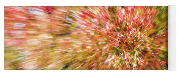 Fall Leaves Abstract 7 Yoga Mat