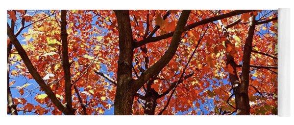 Fall Maple Yoga Mat