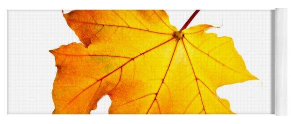 Fall Maple Leaf Yoga Mat