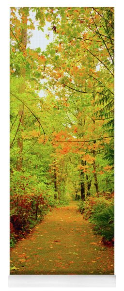 Fall Path Too Yoga Mat