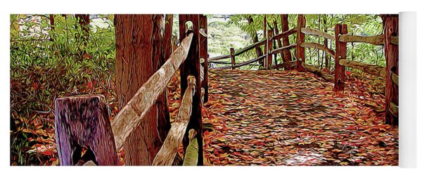 Fall Pathway Yoga Mat