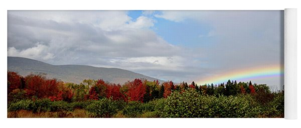 Fall Rainbow Yoga Mat