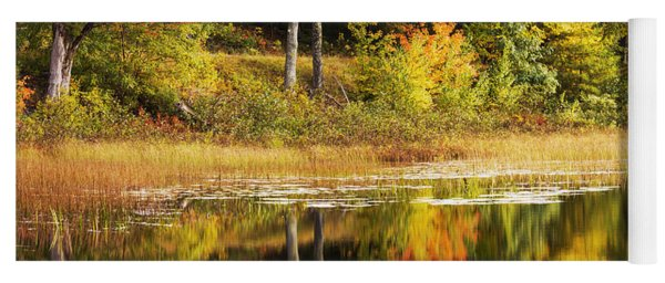 Fall Reflection Yoga Mat