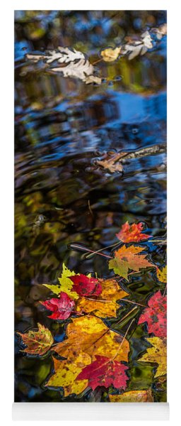 Fall Reflection - Pisgah National Forest Yoga Mat