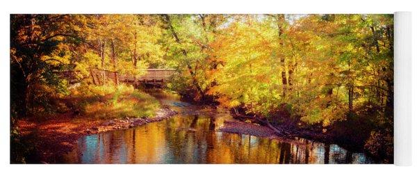 Fall Scene In Stillwater Yoga Mat
