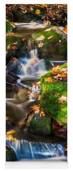 Fall Seasonal Water Cascade Yoga Mat