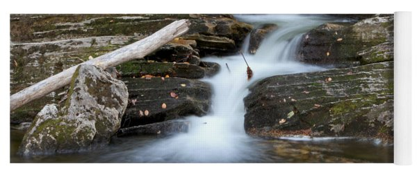 Yoga Mat featuring the photograph Fall Serenity by Frank Pietlock