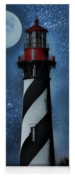 Falling For You St Augustine Lighthouse Yoga Mat
