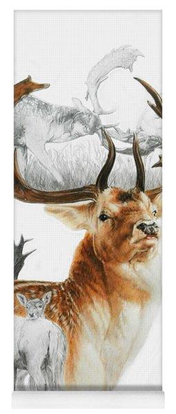 Fallow Deer Yoga Mat