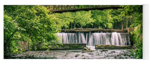 Falls At Ritter Springs Yoga Mat