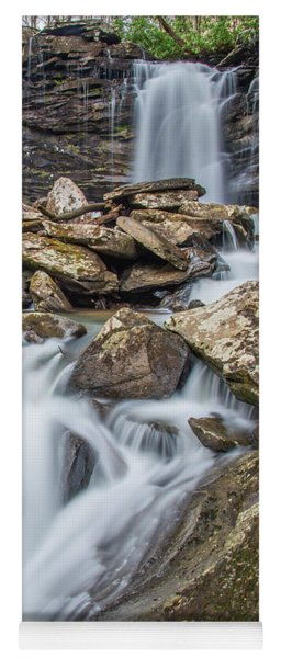 Falls Of Hills Creek Middle Falls Yoga Mat