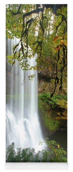 Falls Though The Trees Yoga Mat
