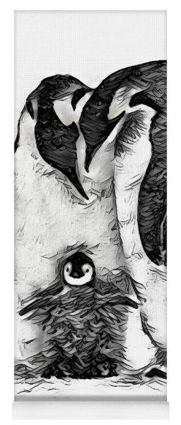 Yoga Mat featuring the digital art Family Love by Pennie McCracken