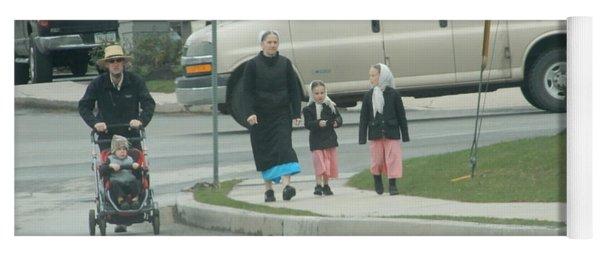 Family Walk Yoga Mat