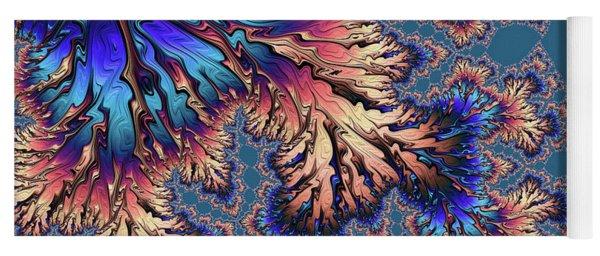 Yoga Mat featuring the digital art Fantasia by Susan Maxwell Schmidt