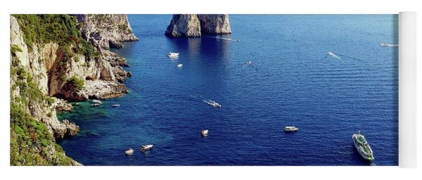 Faraglioni Rocks, Isle Of Capri Yoga Mat
