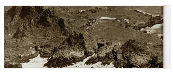 Farallon Island Lighthouse Pacific Ocean April 4, 1924 Yoga Mat