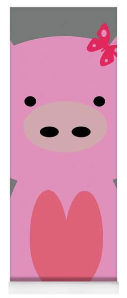 Farm Animals - Pig Yoga Mat
