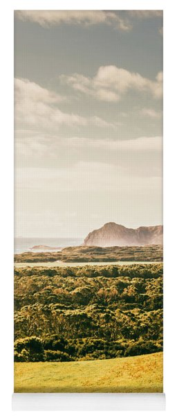 Farm Fields To Seaside Shores Yoga Mat