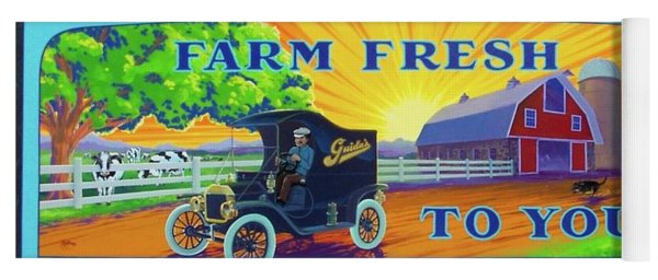 Farm Fresh To You  Yoga Mat
