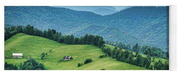 Farm In The Mountains - Romania Yoga Mat