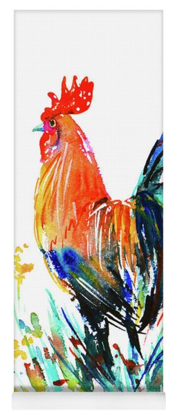 Farm Rooster Yoga Mat