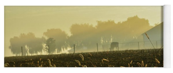 Farm Sunrise #4 Yoga Mat