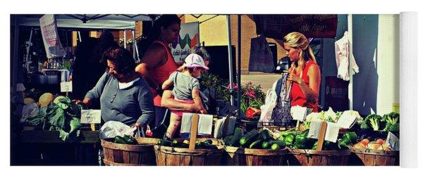 Farmers Market Produce  Yoga Mat