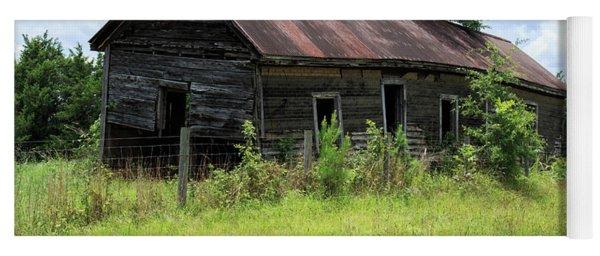 Farmhouse Abandoned Yoga Mat