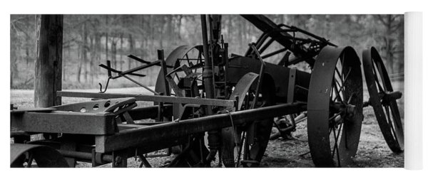 Farming Equipment Yoga Mat