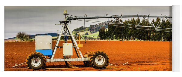 Farming Field Equipment Yoga Mat