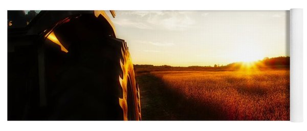 Farming Until Sunset Yoga Mat