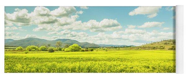 Farmland Colour Yoga Mat