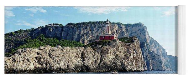 Faro Lighthouse - Ise Of Capri Yoga Mat