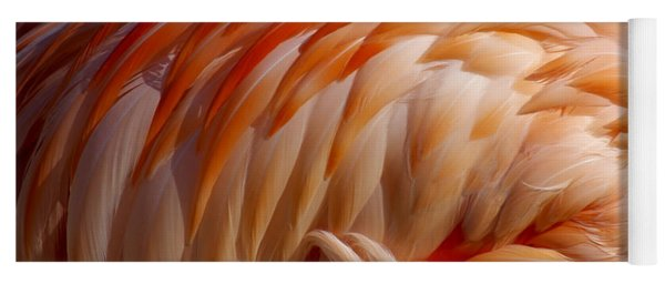 Feathers Of Pink Yoga Mat
