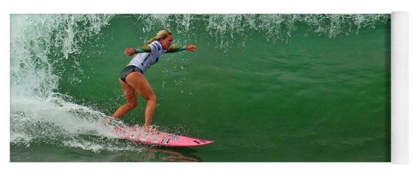 Felicity Palmateer Surfing Yoga Mat